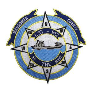 USS Mahnomen County LST-912 Ship Patch