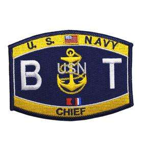 USN RATE BT Boiler Technician Chief Patch