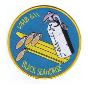 Marine Bomber Squadron VMB-611 Patch
