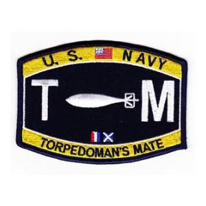 USN RATE TM Torpedoman's Mate Patch