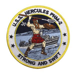 USS Hercules PHM-2 Ship Patch