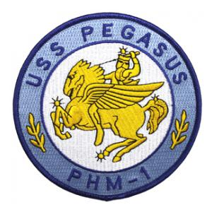 USS Pegasus PHM-1 Ship Patch