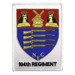 104th Infantry Regiment (NYG Rifles) Patch