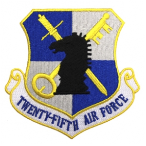 Twenty-Fifth Air Force Patch