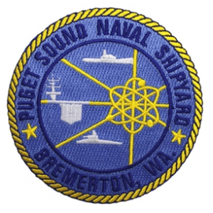 Pugent Sound Naval Shipyard Bremerton, WA Patch