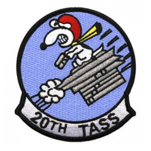 Air Force 20th Tactical Air Support Squadron Patch