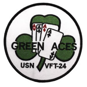 Navy Vertical Fighter Training Squadron VFT-24 (Green Aces) Patch