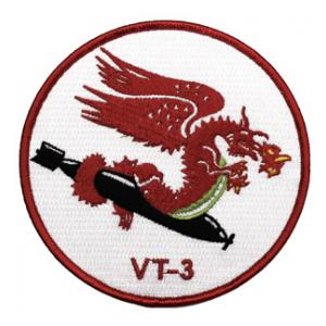 Navy Torpedo Bombing Squadron VT-3 Patch