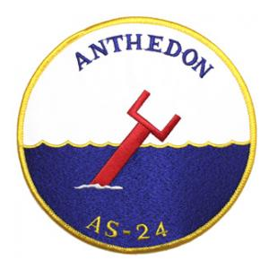 USS Anthedon AS-24 Ship Patch