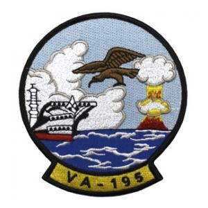 Navy Attack Squadron VA-195 Patch