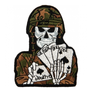 We Deal You Lose Skull Patch
