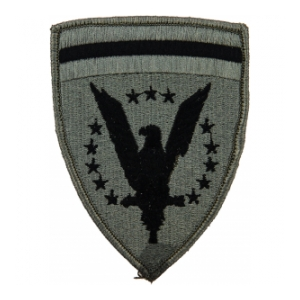 European Command Patch Foliage Green (Velcro Backed)