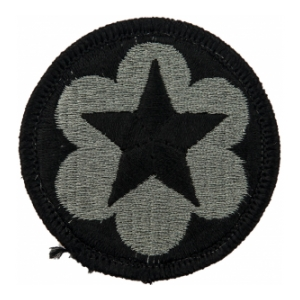 Dept. of the Army Staff Support Patch Foliage Green (Velcro Backed)