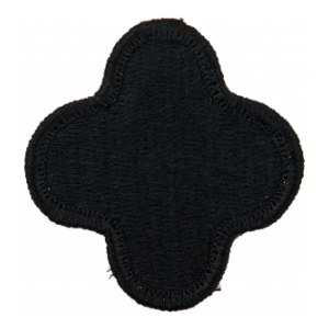 88th Infantry Division Patch Black (Velcro Backed)