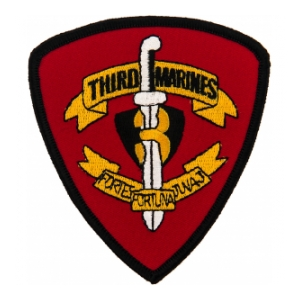 3rd Marines Regiment Patch