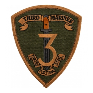 3rd Marines Regiment Patch (Subdued)