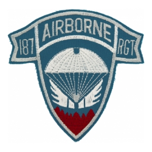187th Airborne Infantry Regiment Patch