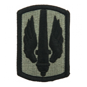 18th Field Artillery Brigade Patch Foliage Green (Velcro Backed)
