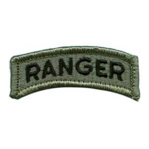 Ranger Tab  Foliage Green (Velcro Backed)