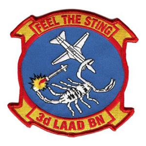 3rd Low Altitude Air Defense Battalion (3rd LAAD) Patch