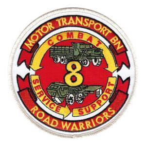 8th Motor Transport Battalion Patch