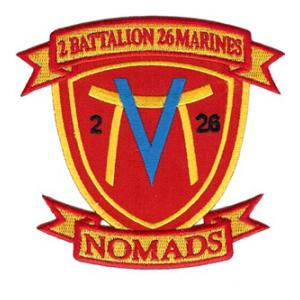 2nd Battalion / 26th Marines Patch