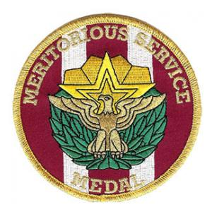 Meritorious Service Medal Patch