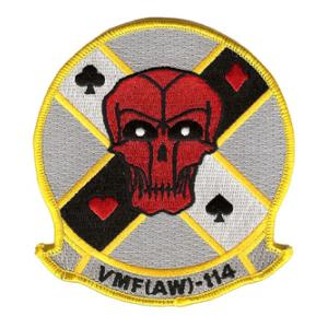 Marine All Weather Fighter Squadron VMF(AW)-114 Patch