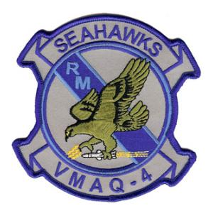 Marine Tactical Electronic Warfare VMAQ-4 (Seahawks) Variant Patch