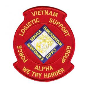 Viet Nam Force Logistic Support Group Alpha Patch