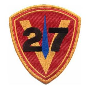 27th Marine Regiment Patch