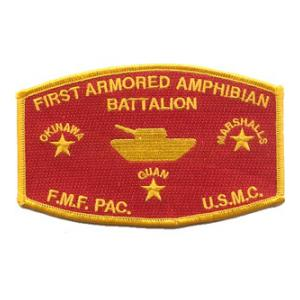 1st Amored Amphibian Battalion Patch