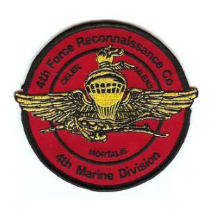4th Force Reconnaissance Co. Patch