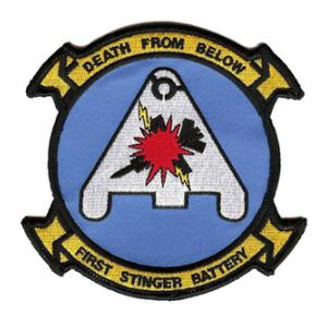 USMC 1st Stinger Battery Patch