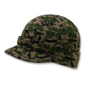 Digital Woodland Camo Jeep Cap