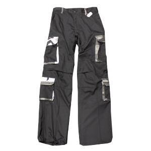 Ultra Force Rigid 8 Pocket BDU Pants (Black with City Camo Accents)