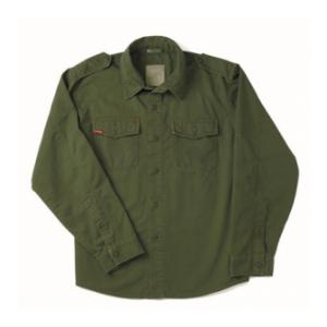 Vintage Style Fatigue Shirt  (Olive Drab)