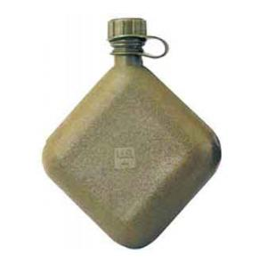 G.I.  Collapsible Plastic Bladder Canteen (2 Quart) (Olive Drab)