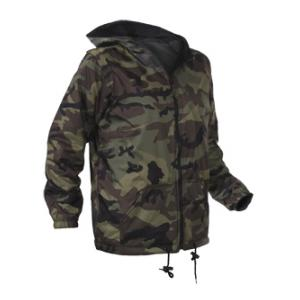 Youth Reversible Camo Jacket with Hood