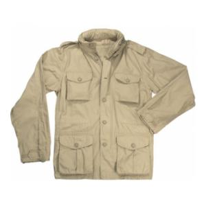 Lightweight Vintage M-65 Field Jacket (Khaki)