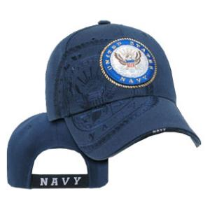 US Navy Shadow Cap with Seal (Navy Blue)