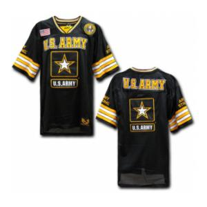Army Football Jersey (Black)