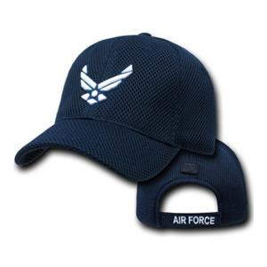 Air Force Wing Logo All Mesh Cap (Navy Blue)