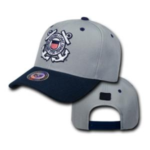 Coast Guard Workout Cap (Light Gray)
