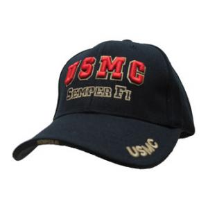 USMC Semper Fi Cap (Black) Rapid Dominance