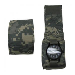 Extra Wide Nylon Watch Band W/ Cover (Army ACU Digital)