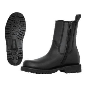 Ridge All Leather Side Zipper  Boot