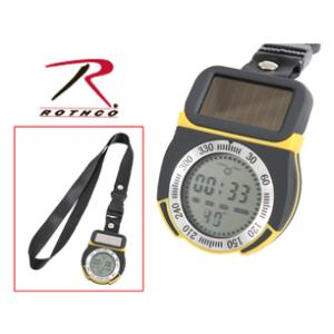 Solar Powered Multifuctional Digital Compass