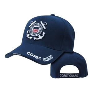 US Coast Guard Cap with Embroidered Logo (Navy Blue)