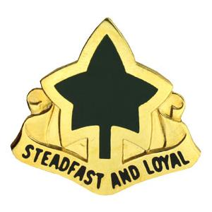 4th Infantry Division Distinctive Unit Insignia